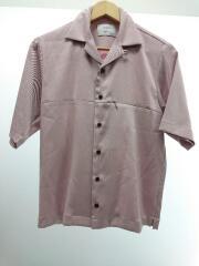 半袖シャツ/1/ポリエステル/107202007/ハイツイストオープンカラーシャツ