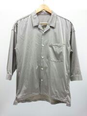 7分袖シャツ/2/ナイロン/ベージュ/106300002