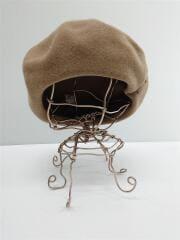 ベレー帽/--/ウール/ベージュ/ZKN01270
