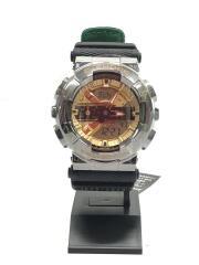 カシオ/NEWERA/クォーツ腕時計/アナログ/ブラック/GM-110NE/100周年記念コラボ/G-SHOCK  SPECIAL