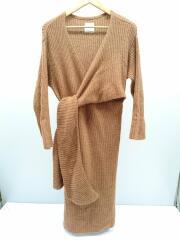 ワンピース/FREE/ナイロン/キャメル/11720325/Cache-coeur Knit Dress