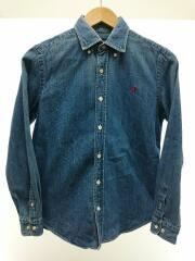 ジムフレックス/ネルシャツ/14/コットン/ブルー/12A-WS-002