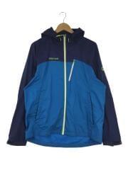 WIND SHELL JACKET/ナイロンジャケット/XL/ナイロン/ブルー/MJJ-S1004