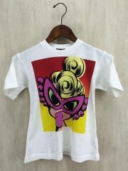 Tシャツ/100cm/コットン/WHT