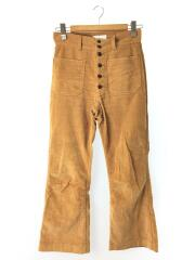 19AW/DOBBY COLOR CORDUROY SAILOR PANTS/2/コットン/CML/PS19-PT03