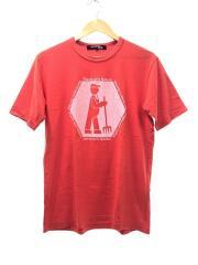 Tシャツ/M/コットン/RED/WI-T030/AD2011