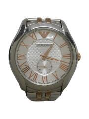 クォーツ腕時計/アナログ/ステンレス/シルバー/AR-1824