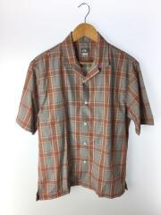 半袖オコチロパッチシャツ/M/ナイロン/BRW/NR21960B