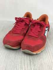 ローカットスニーカー/41/RED/汚れ・使用感有