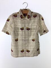 50s総柄ブロードシャツ/140cm/指定外繊維/IVO/総柄