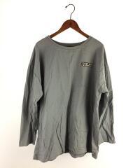 長袖Tシャツ/L/コットン/GRY/0G201-282EL