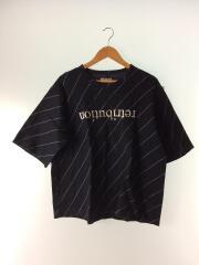 Tシャツ/3/コットン/NVY/19315073