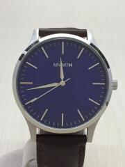 MVMT/クォーツ腕時計/アナログ/NVY