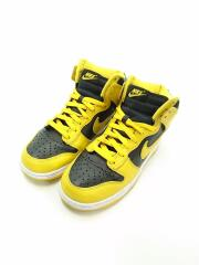 DUNK HIGH SP BLACK VARSITY MAIZE/ハイカットスニーカー/24cm/YLWcz8149-0