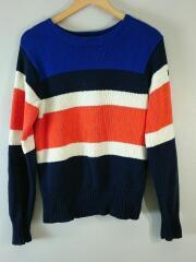セーター(厚手)/S/コットン/マルチカラー