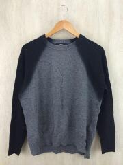 セーター(薄手)/XS/ウール/GRY
