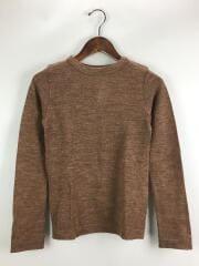 セーター(薄手)/2/ウール/ブラウン