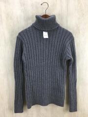 セーター(厚手)/O/ウール/GRY