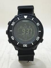 ソーラー腕時計/デジタル/ブラック/SBEP041/Prospex Fieldmaster DIGITAL