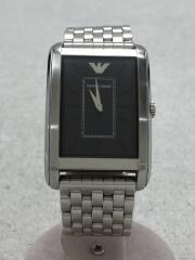 腕時計/アナログ/黒/シルバー/AR-1900/エンポリオアルマーニ/