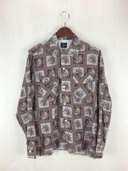 ニードルズ/18SS/Classic Shirt Tencel Cloth/S/ブラウン/ペイズリ-