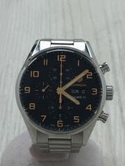 Calibre 16/自動巻腕時計/ステンレス/ブラック/タグホイヤー/カレラ/CV2A1AV/クロノグラフ carrera  バックスケルトン