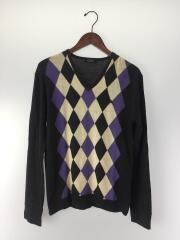 セーター(薄手)/2/ウール/BLK