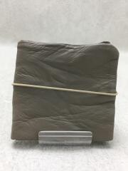 3.1B/Mono./折り畳み/3つ折り財布/レザー/GRY