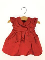 ドレス/60cm/シルク/RED/ラルフローレン/絹/新生児