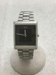 クォーツ腕時計/アナログ/ステンレス/GRY/SLV/7832-5050/セイコー