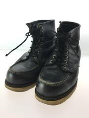 ブーツ/--/BLK/レザー/レッドウィング