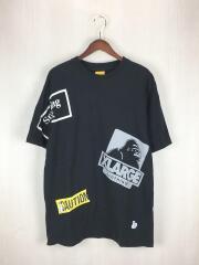 Tシャツ/M/コットン/BLK/FRC1106