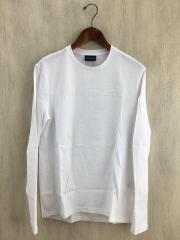 長袖Tシャツ/M/コットン/WHT/6G1TL6 1JHWZ