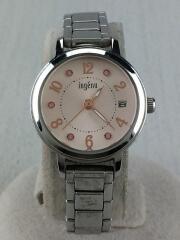 クォーツ腕時計/アナログ/--/SLV/SLV/VJ22-KPY0/ingenu