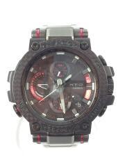 ソーラー腕時計・G-SHOCK/アナログ/ブラック レッド MTG-B1000XBD-1AF