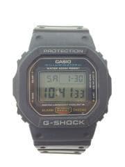 クォーツ腕時計/デジタル/ラバー/3229DW-5600E G-SHOCK Gショック ブラック