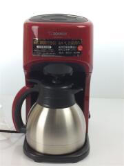 コーヒーメーカー 珈琲通 EC-KT50-RA レッド 紙フィルター ステンレスポット