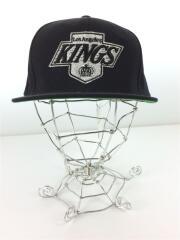 ロサンゼルスキックス ブラック ベースボール キャップ/KINGS/ウール