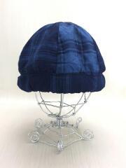 ベレー帽/--/ネル/IDG/チェック/ファンセットオブアート