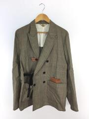 20SS/ANCIENT CHECK/DOUBLE-BREASTED JACKET/3/20S35/エンシェントチェック