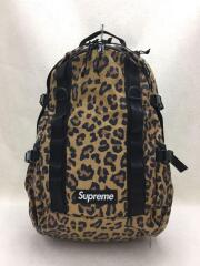 20AW/Leopard Backpack Bag/ナイロン/CML/リュック バックパック  レオパード