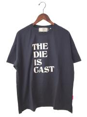 20AW/Big T-shirt/THE DIE IS CAST/THOMAS MAGP/38/コットン/NVY