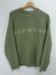 20AW/STONE WASHED SWEATER/セーター(厚手)/S/KHK/ストーンウォッシュ