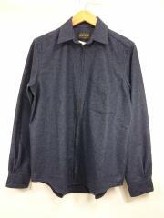 Full Zip Spinnaker Shirt/Japan Fit/L/ウール/198014371700