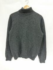 セーター(厚手)/50/ウール/GRY