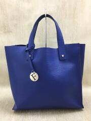 トートバッグ/レザー/ブルー/青/G6517