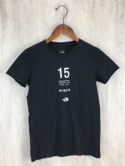 Tシャツ/S/コットン/ブラック/黒/カットソー/プリント