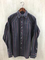 長袖シャツ/S/コットン/マルチカラー/20782F5/ストライプ/Highball Snap Shirts