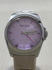 クォーツ腕時計/アナログ/ステンレス/PUP/1032-T001599 TA/ポールスミス