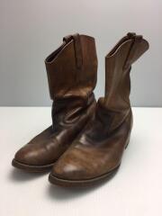 ペコスブーツ/US9.5/BRW/レザー/11331/茶色/ブラウン/ブーツ